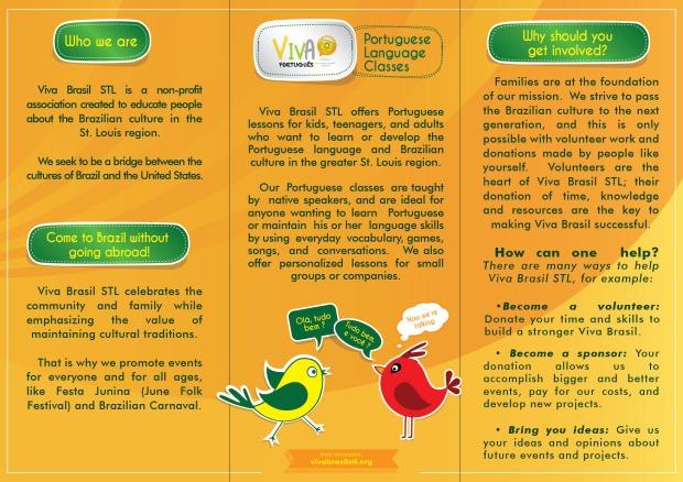 Folder Viva Brasil