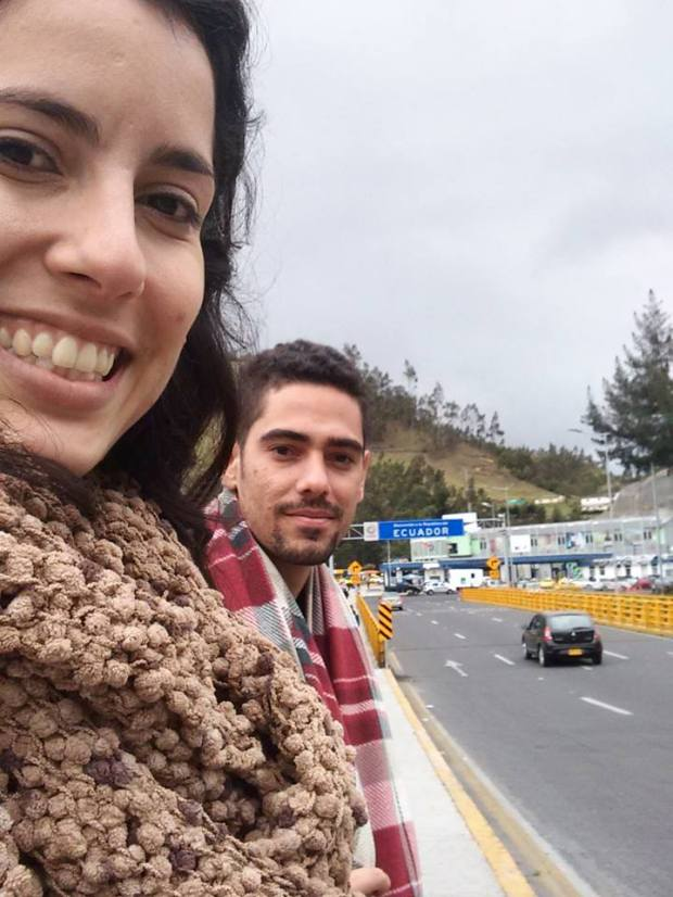 Ponte que liga Colômbio - Equador
