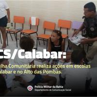 Você pode substituir violência por Bases Comunitárias, por exemplo. Conheça o belíssimo trabalho da PM - Bahia